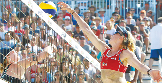 Volleyball, pop music converge at p1440