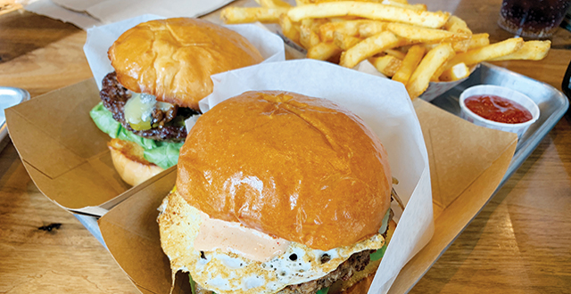 Konjoe Burger dresses up the American classic with understated fusion twists