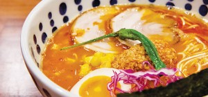 The Place's shoyu eggs were cooked perfectly and had creamy yolks to go along with the soy-flavored whites. Photo by John Dyke