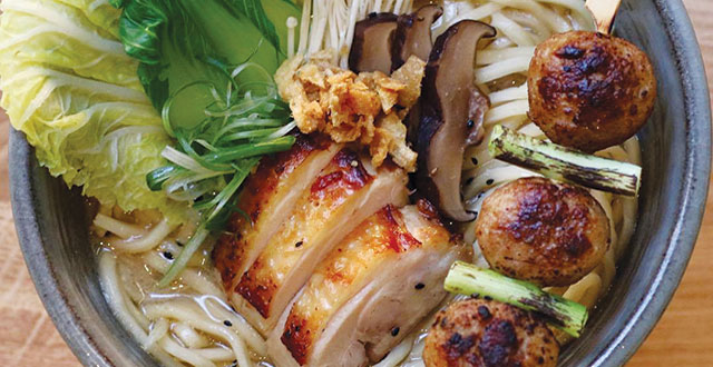 Taro San Japanese Noodle Bar satisfies the soul and the taste buds