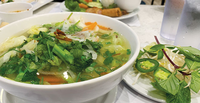 Pho 24′s Sprawling Menu Shows Promise