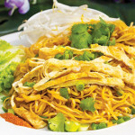 EGGCELLENT: Famous Lao Papaya's khaw mee makes for a perfect afternoon snack.
