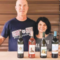 VINE TIME: Paul and Vicki Kermoyan of P&V Winery.