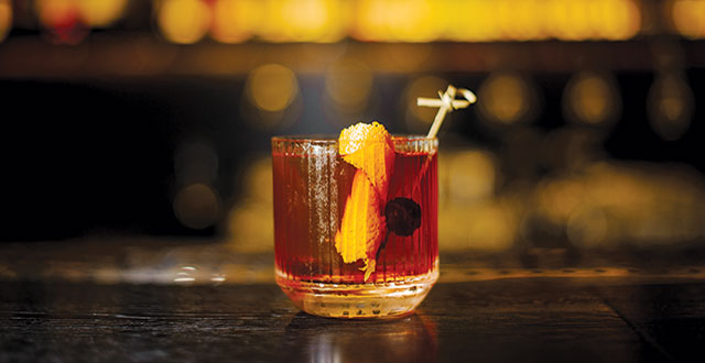 Served With Seltzer or Clear-Cut Ice, the Old Fashioned is a True Original