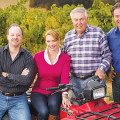 FAMILY AFFAIR: Members of the Lohr clan, who together run the San Jose-based J. Lohr Vineyards & Winery.