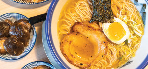 BREAKING AWAY: Afuri Ramen + Dumplings specializes in a chicken broth called 'chintan.' Photo by John Dyke