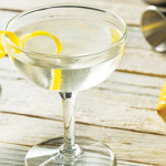 HOLD THE OLIVE: The most appropriate garnish for a martini is a lemon peel, which adds aromatics, brightness and mouthfeel.