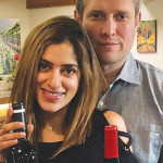 BANNER YEAR: Janu and Jason Goelz were each awarded Best of Class honors for their Santa Clara Valley-produced wines in this year's  San Francisco Chronicle Wine Competition.