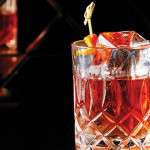 THE CUBE: Large, clear chunks of ice elevate the experience of imbibing.