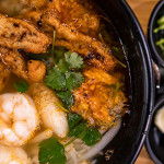 BLENDED BROTH: Vietnamese, Cambodian and Chinese cuisines come together at Nam Vietnamese Brasserie. Photo by John Dyke