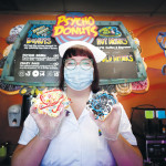 GET WEIRD: Psycho Donuts opened its Campbell locations last year and now has a rotating menu of off-the-wall pastries that changes with the season. Photo by Greg Ramar